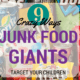 Marketing To Children: 9 Ways Junk Food Giants Target Children