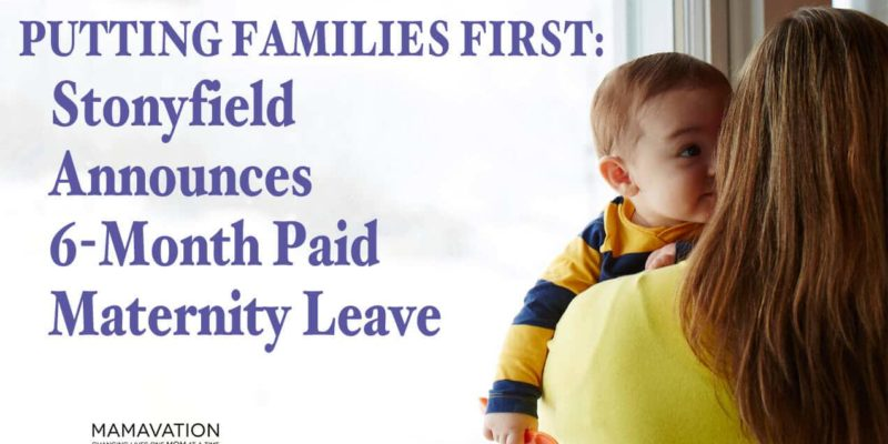 Family Leave: 6 Months For All Employees At Stonyfield