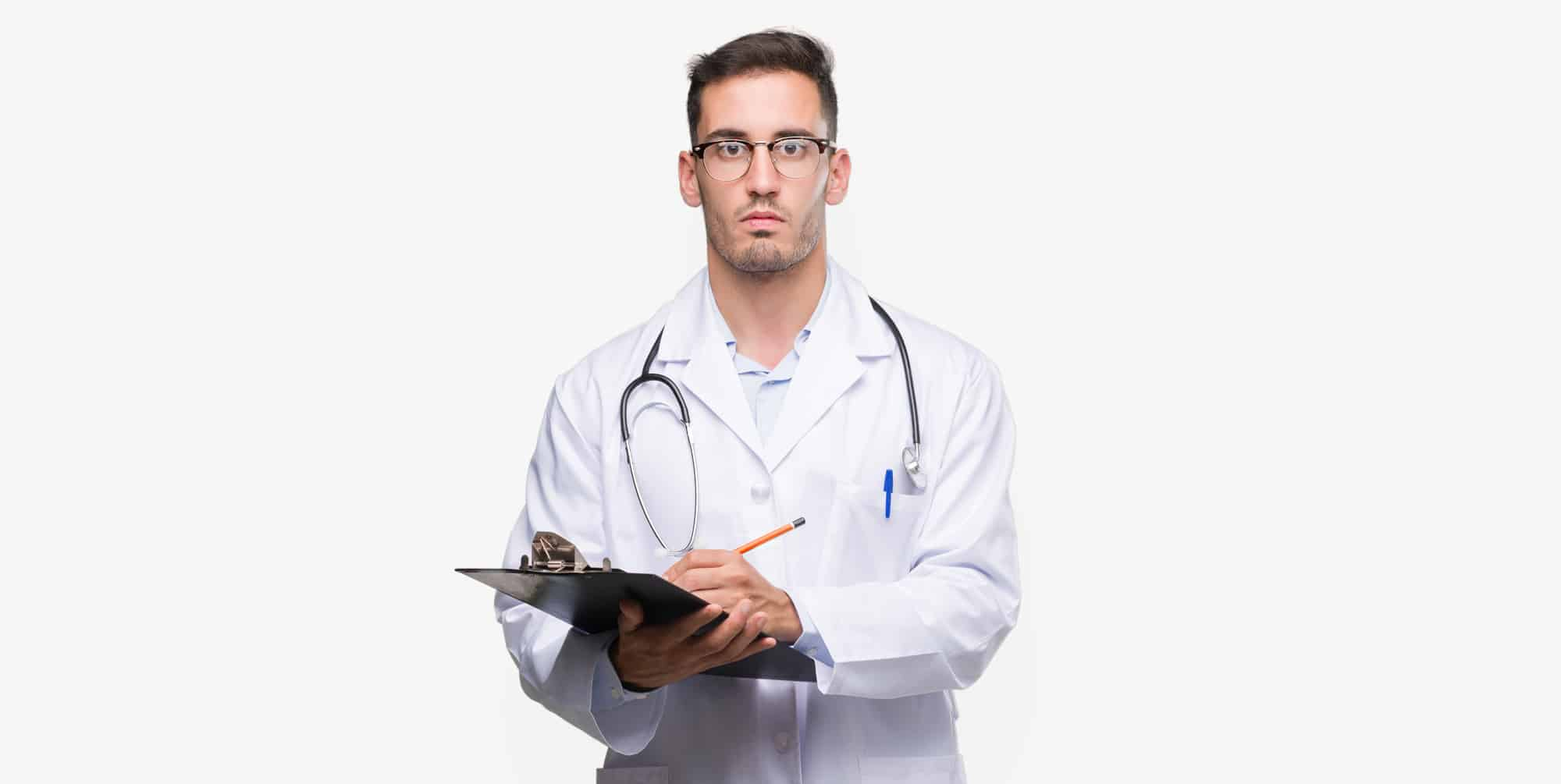 serious doctor