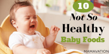 10 Not So Healthy Baby Food 7