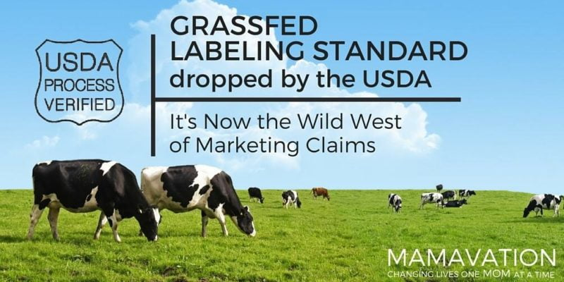 Grassfed Label Standards Dropped by the USDA