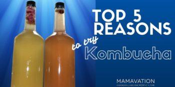 Top 5 Reasons To Try Kombucha Tea 1