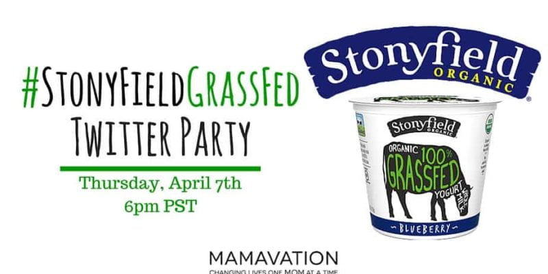 Stonyfield GrassFed Twitter Party 1