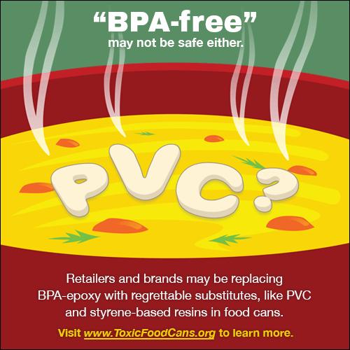 PVC Cans - BPA-free