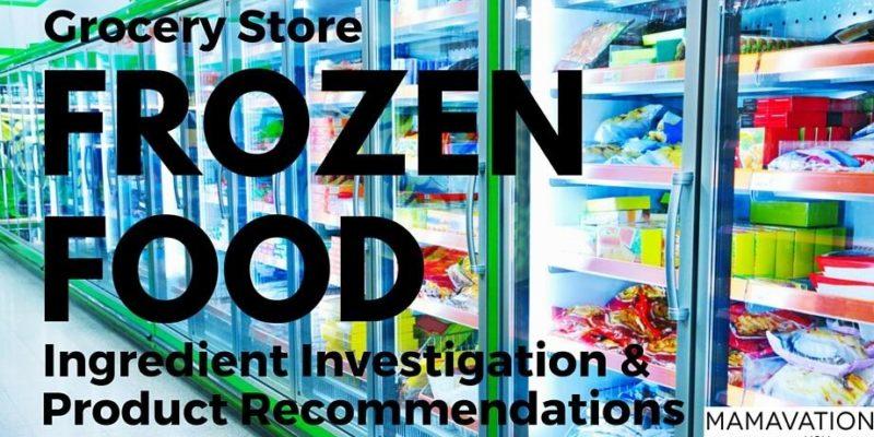 Grocery Store Frozen Food: Ingredient Investigation 1