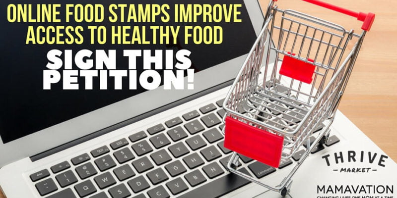 Online Food Stamps Improve Access to Healthy Food--SIGN THIS PETITION