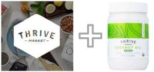 Thrive Market Membership + Coconut Oil (1)