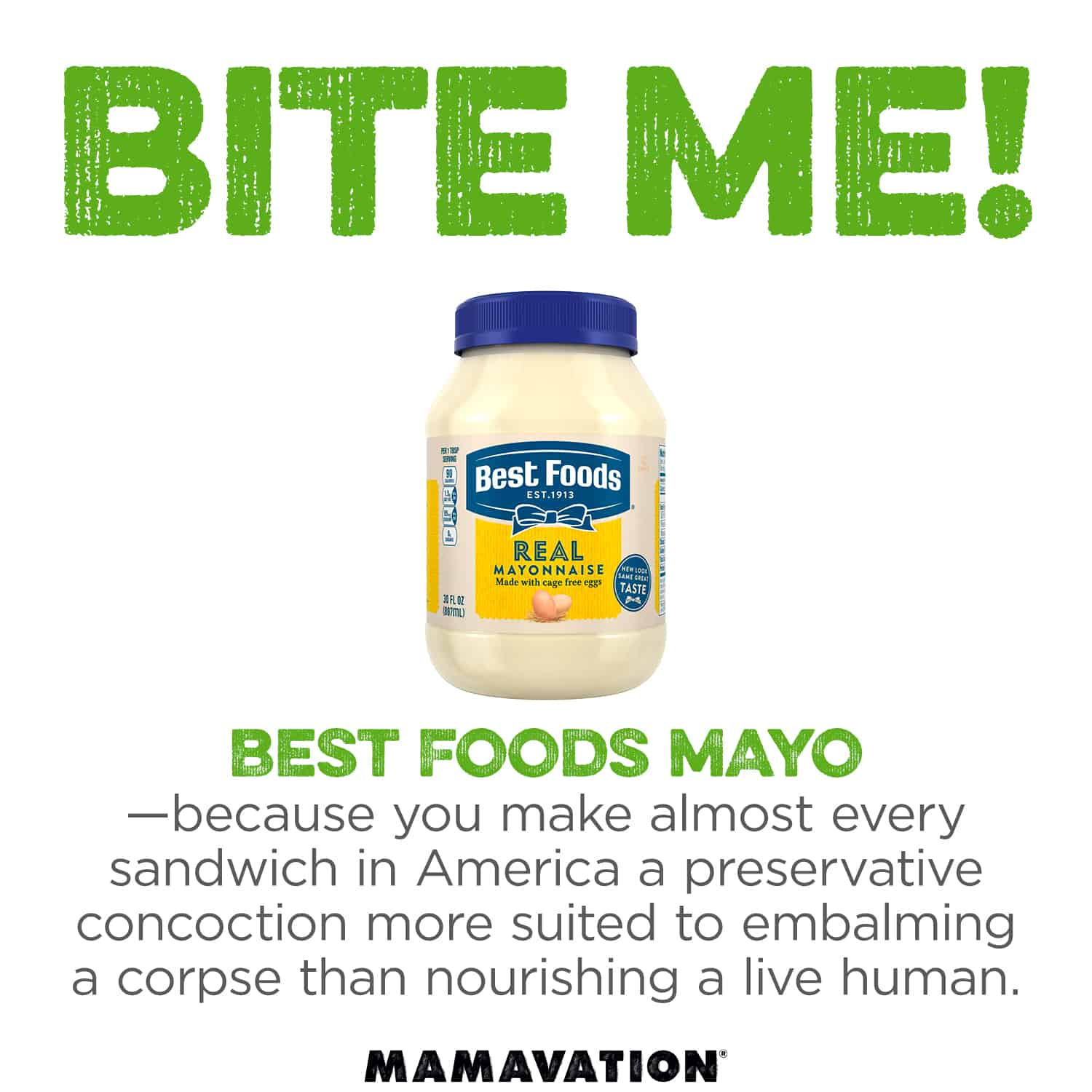 Bite Me Best Foods Mayo