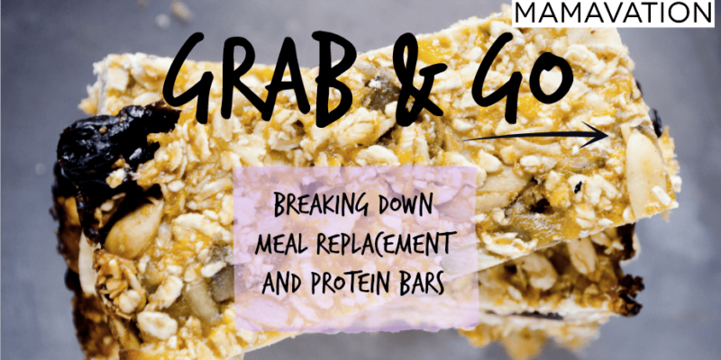 """Grab & Go"" Food Investigation: Breaking Down Meal Replacement and Protein Bars 1"