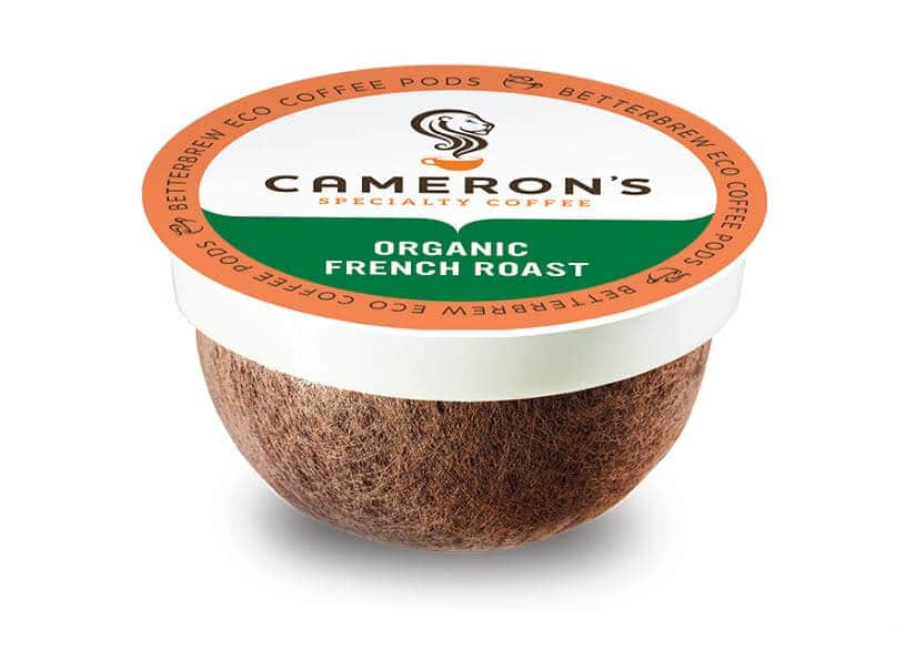 Cameron's Organic French Roast Compostable Coffee Pods