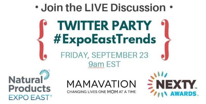 Expo East Twitter Party September 23rd #ExpoEastTrends