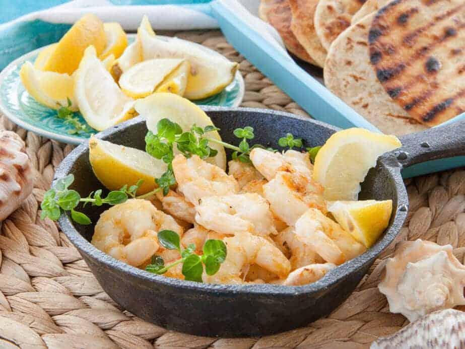 sauteed shrimp with lemon