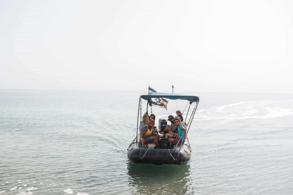 boat-deadsea-vibeisrael Benefits of The Dead Sea