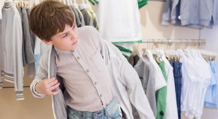 save money on kids clothes green