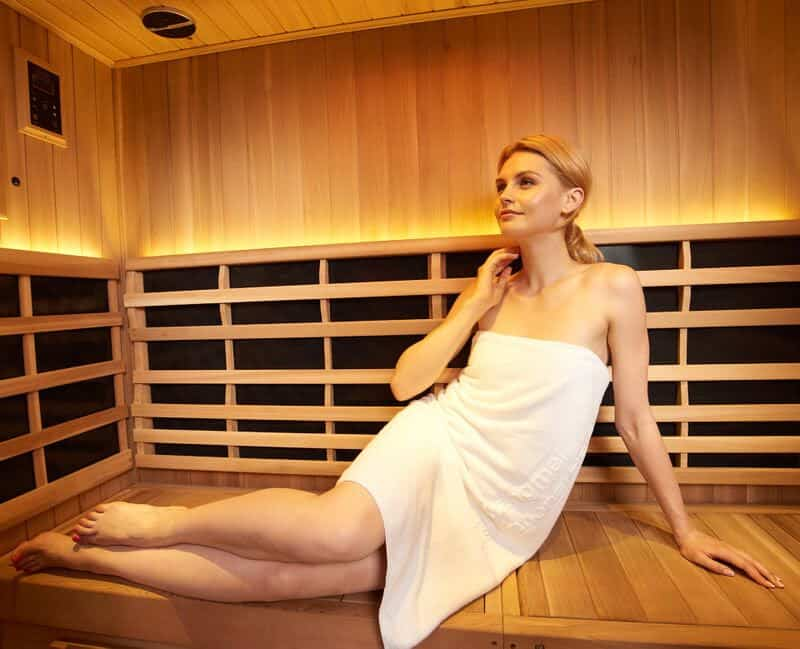 Infrared saunas are good for your health and detoxing