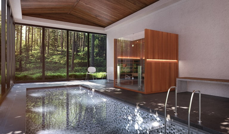 Infrared saunas are healthy and a good way to detox