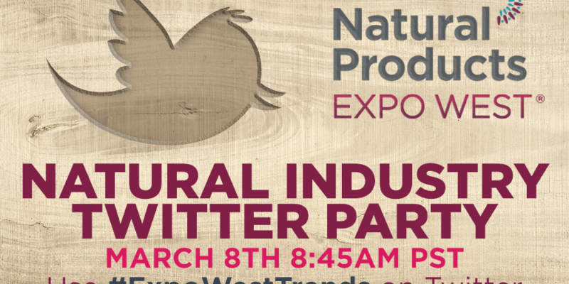 State of the Natural Industry Twitter Party March 8th