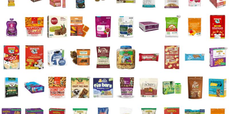 Top 50 + Organic Snacks 4