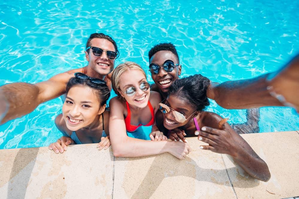 nontoxic swimming pools