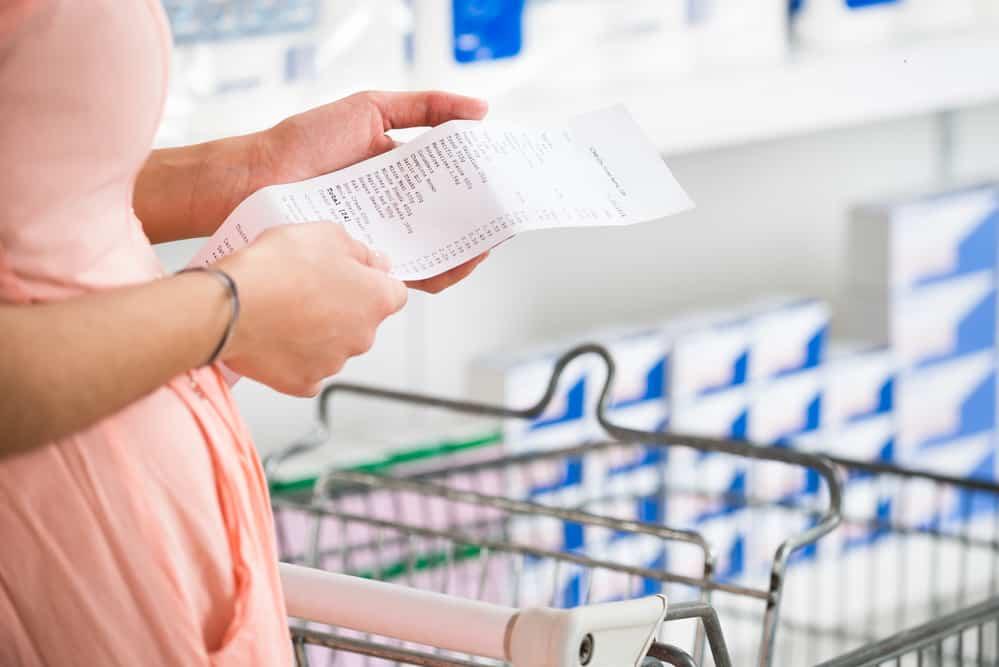 BPA in thermal receipt paper