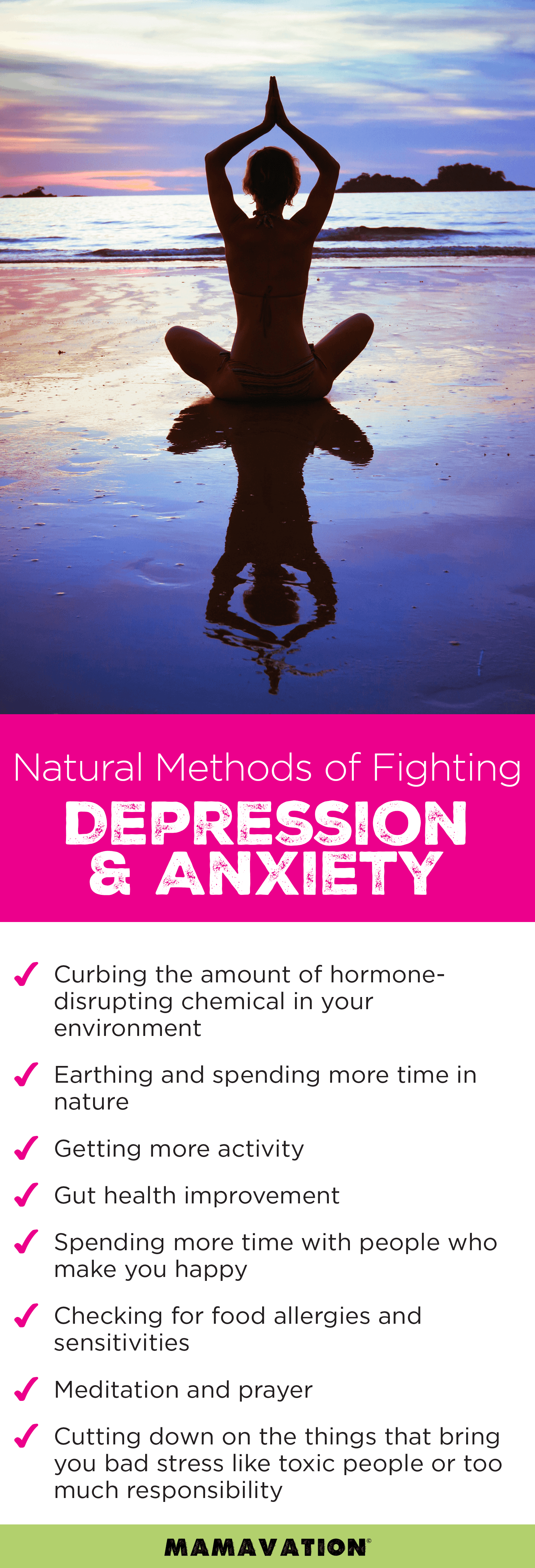 natural ways to avoid depression