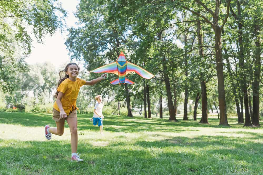 Activities to get kids outside playing
