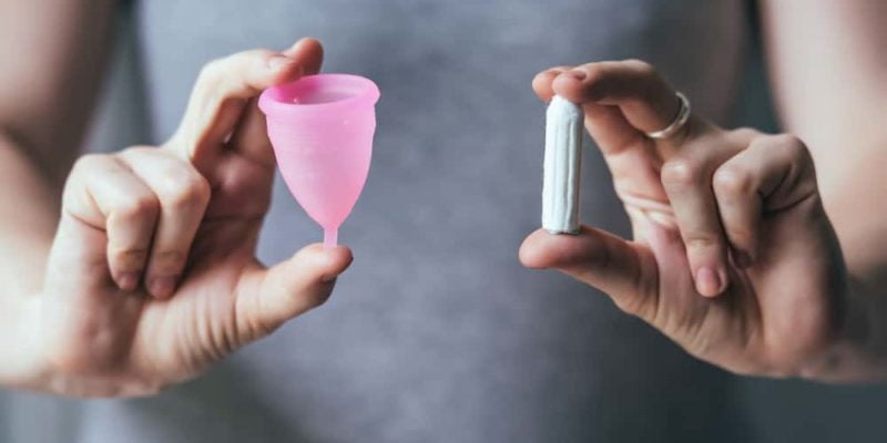 switch feminine care from tampons to menstrual cup