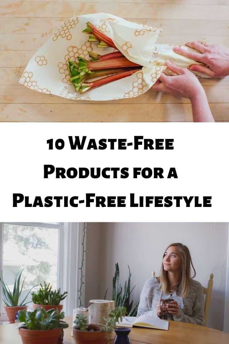 Try these 10 waste-free products that will help you with a plastic-free lifestyle on Mamavation.com.