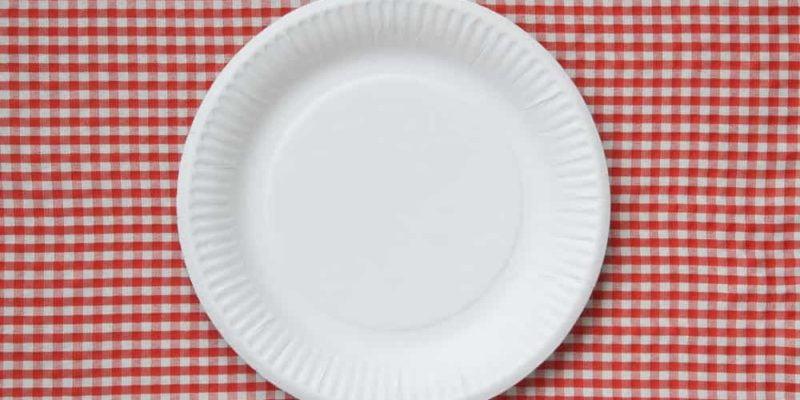 disposable paper plates dangerous chemical PFAS
