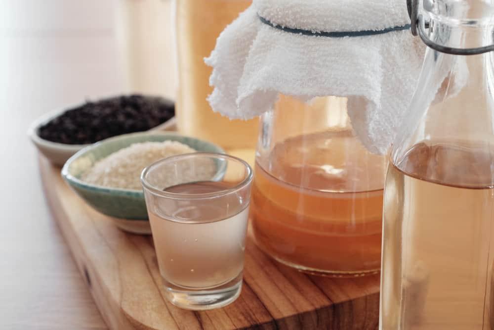 how to make homemade kombucha tea