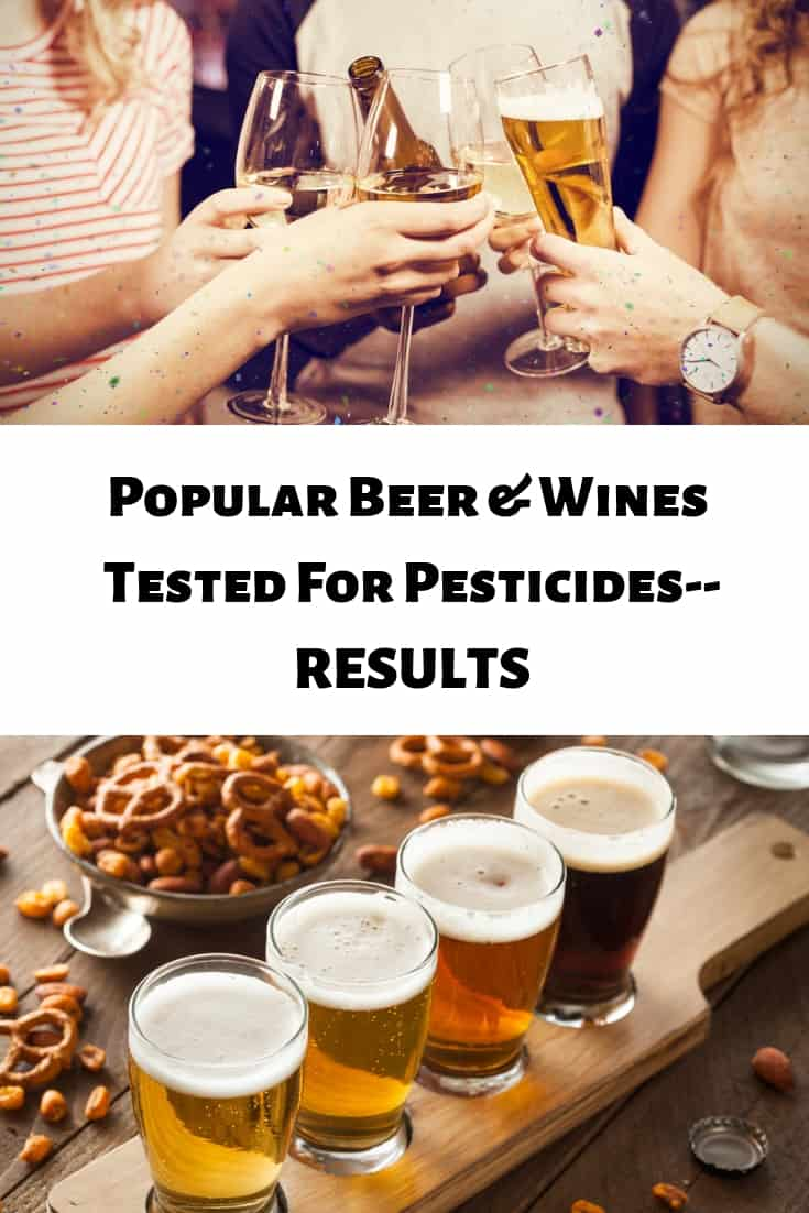 Does your favorite beer and wine have detectable levels of glyphosate? #glyphosate #pesticides #beer #wine