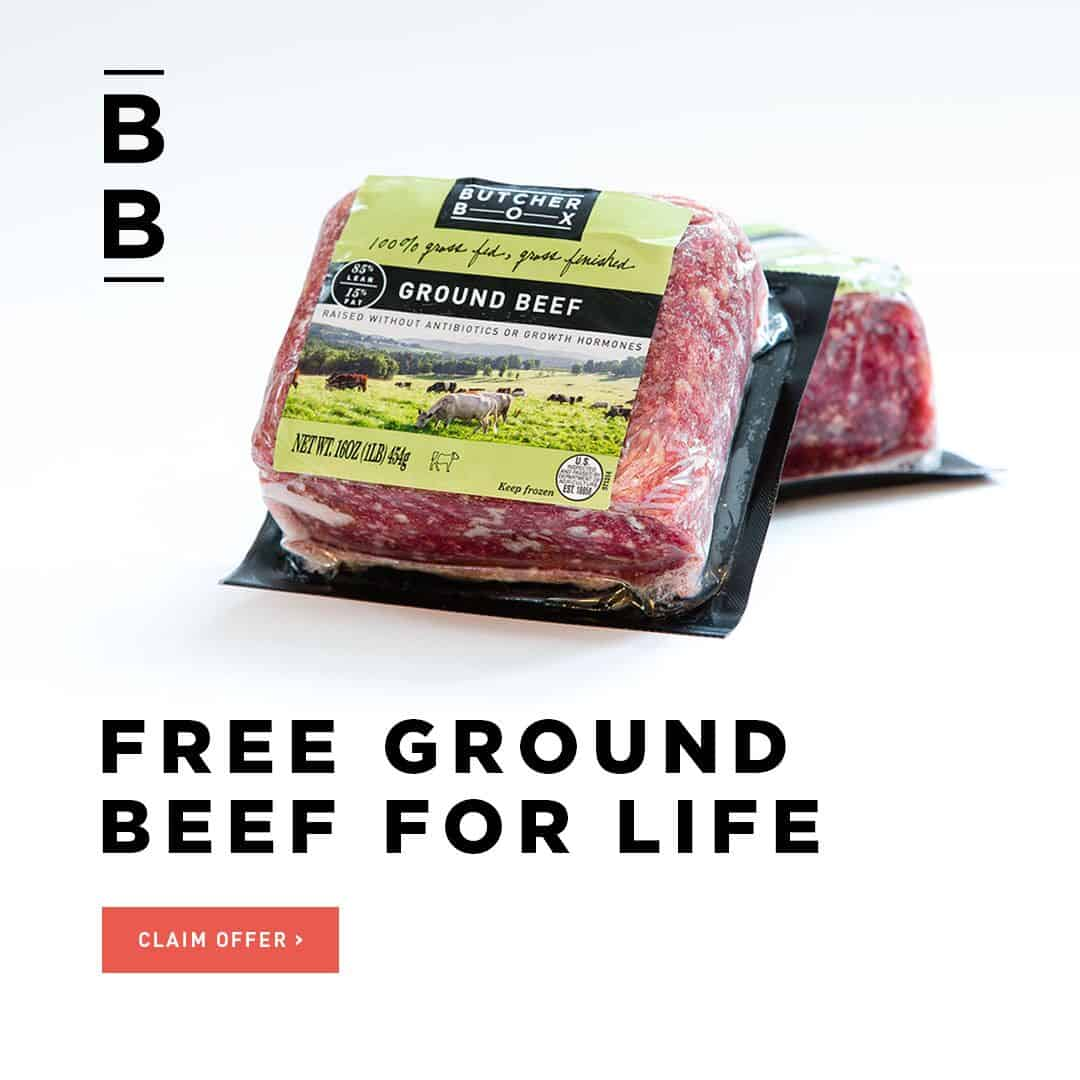ground beef for life
