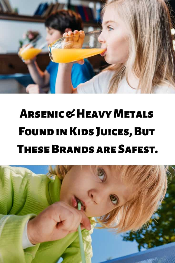 Arsenic and heavy metals were found in some of the most popular juice on the market. But Mamavation has information on all the safest brands!