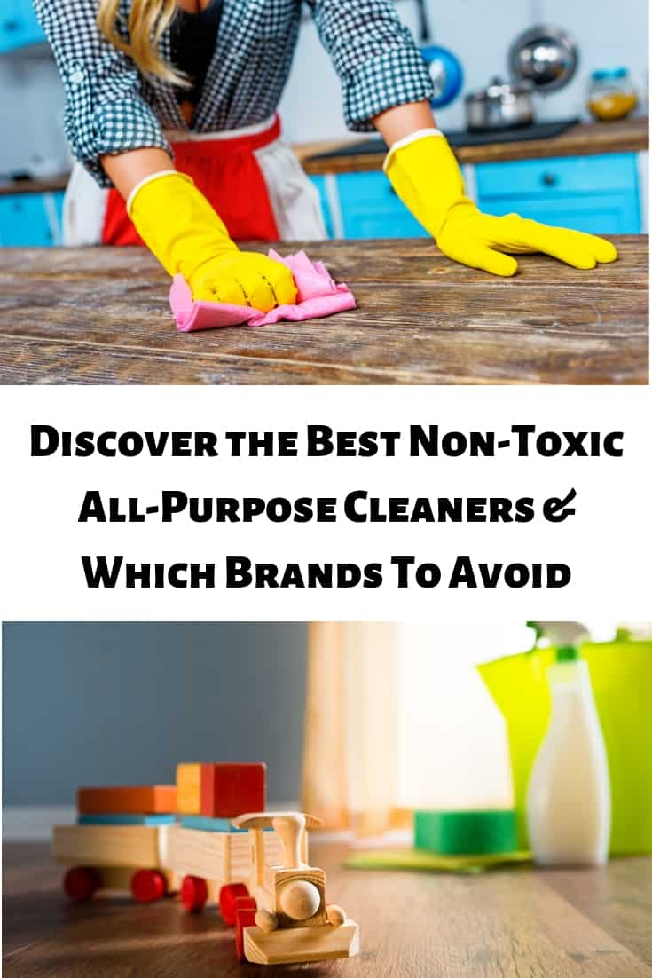 Discover the Best Non-Toxic All-Purpose Cleaners & Which Brands To Avoid on Mamavation