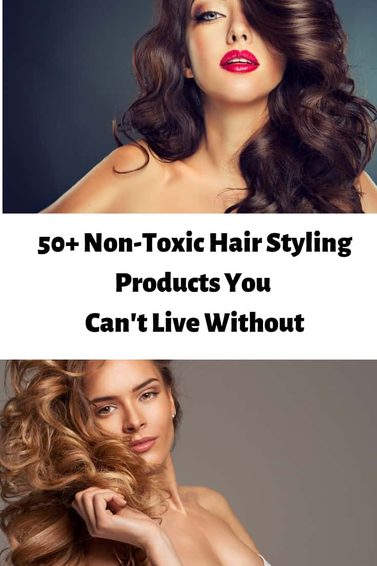 Join Mamavation for 50+ Non-Toxic Hair Styling Products You Can't Live Without