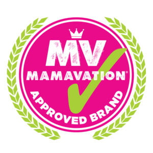 Mamavation pink badge of honor for approved brands