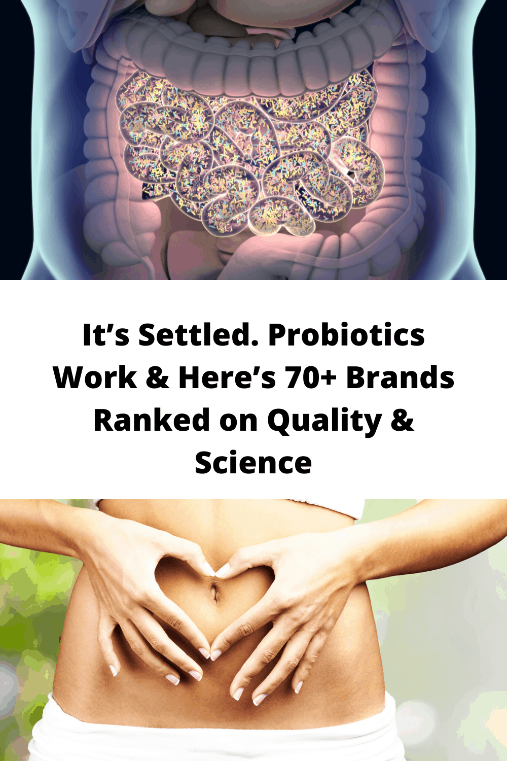 It's Settled. Probiotics Work & Here's 70+ Brands Ranked on Quality & Science