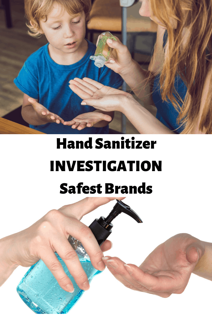 Looking for the safest hand sanitizers? Mamavation investigated close to 40 different brands, compared their ingredients, and ranks them!