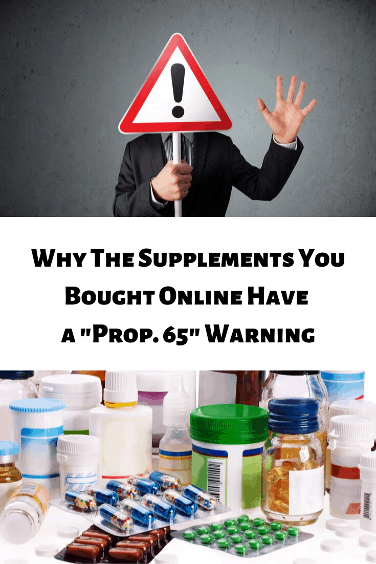 "Why did that box of supplements you just purchased come with a California ""Prop.65"" warning label about carcinogens and reproductive toxicants? Find out on Mamavation.com."