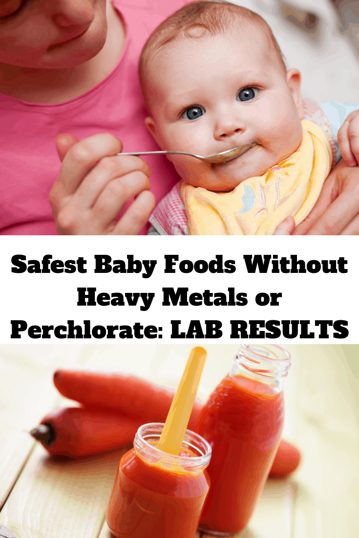 Safest Baby Foods Without Heavy Metals or Perchlorate: 2019 LAB RESULTS