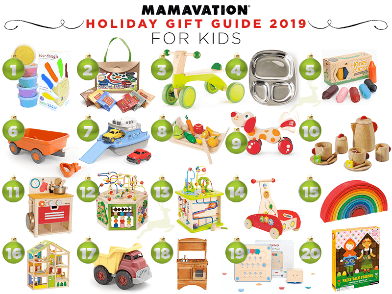 Mamavation holiday gift guide--gift ideas for children