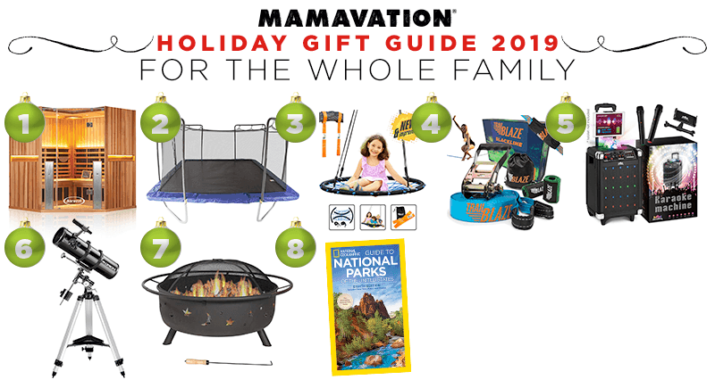 Mamavation's Holiday gift guide for the whole family in 2019