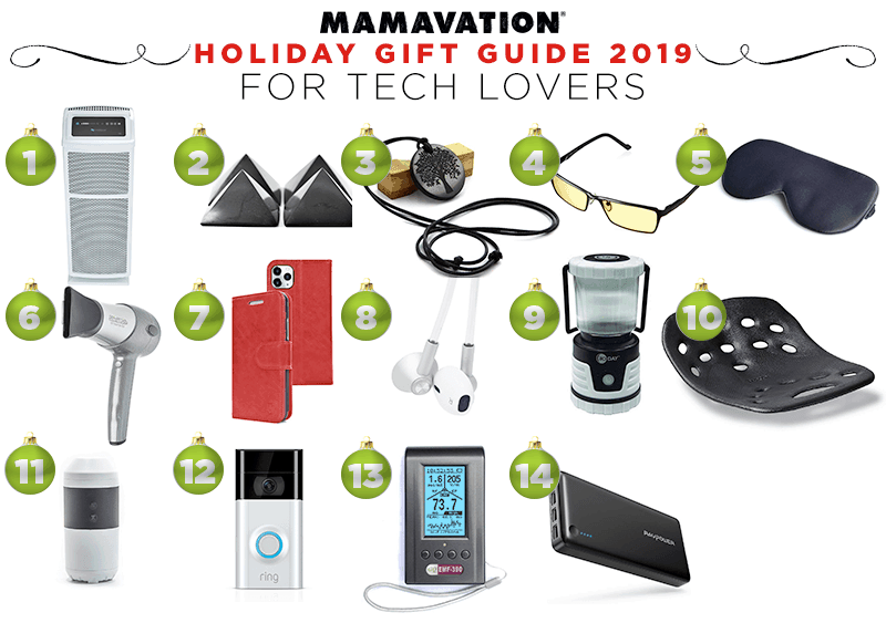 Mamavation's Holiday gift guide for tech lovers in 2019