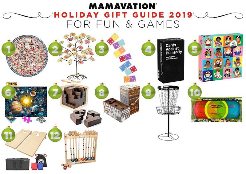 Mamavation's Holiday gift guide for fun & games in 2019