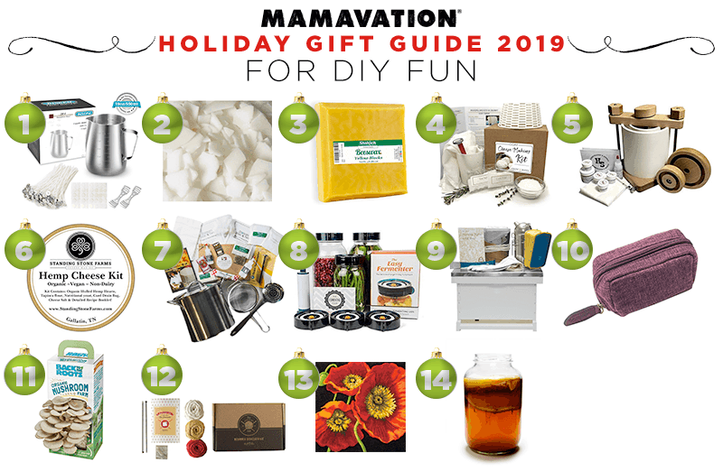 Mamavation's Holiday gift guide for DIY fun in 2019
