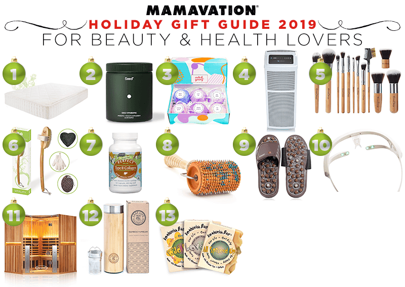 Mamavation's Holiday Gift Guide for Beauty & Health