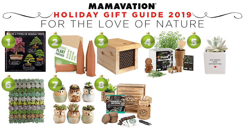 Mamavation's holiday gift guide of nature