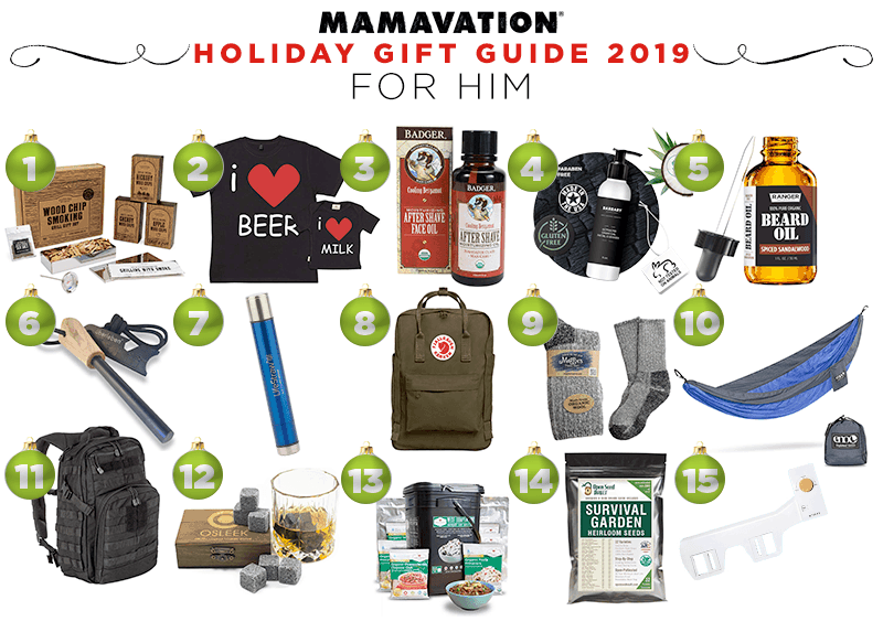 Mamavation's holiday gift guide 2019 for men