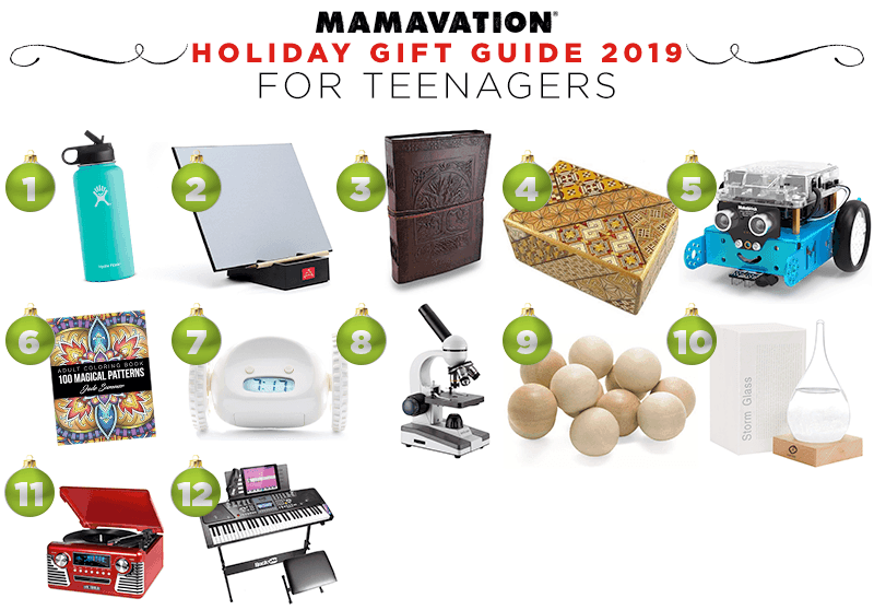Mamavation's Holiday gift guide for teenagers in 2019