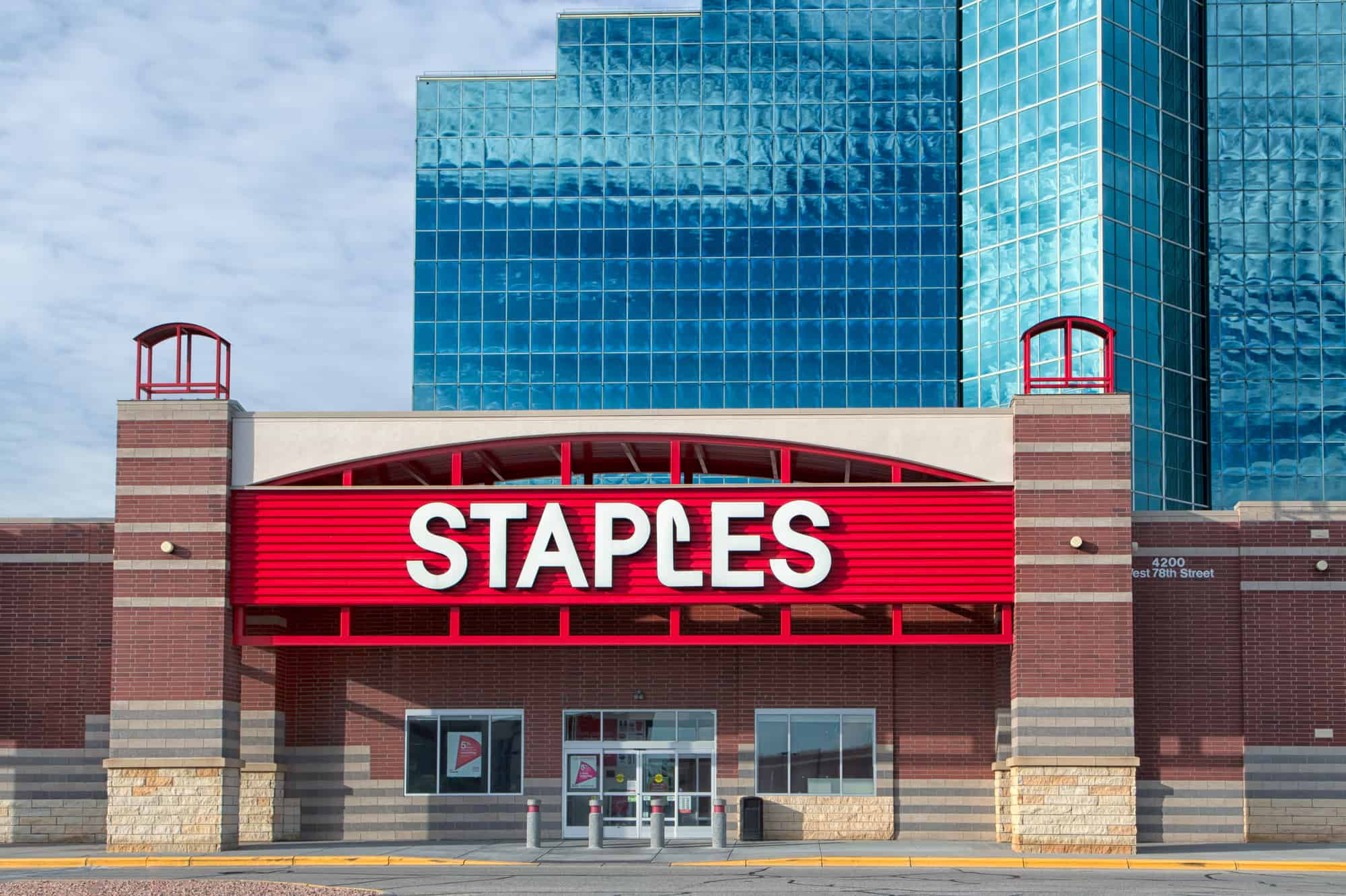 Staples Retail reportcard